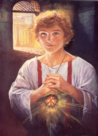 nova.dkuspis.sk -|- 5. Svätý Tarzícius – mladík v službe -|- Diecézny  katechetický úrad Spišskej diecézy